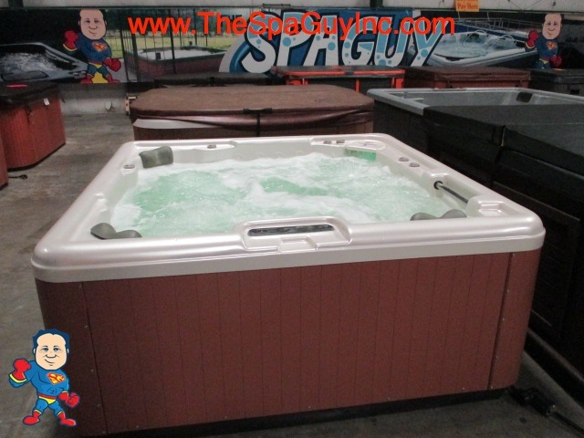Leisure Bay Spas >> Leisure Bay Spa 5 Person 78x78 30 Jets Led Lights and ...